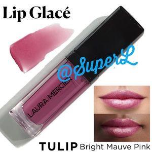 2/$25 Laura Mercier Lip Glace Lipgloss Tulip Pink